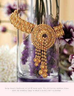 Wedding Jewelry, Gold Jewelry, Fine Jewelry, Waist Jewelry, Gold Pendent, Diamond Necklaces, Gold Necklaces, Gold Set, Necklace Designs