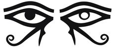 Together the Solar and Lunar Eyes of Ra (Provide a Holistic Perspective as both the right and left hemispheres of the brain are united.)