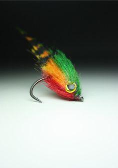 Flies Orange//Brown Salt or Freshwater TARPON GRIZZLY ~ Size 2 ~ Three 3