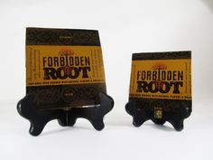 Forbidden Root Beer Coaster Check out this product and may others at http://mancaveupcycle.com/shop/coasters/forbidden-root-beer-coaster/
