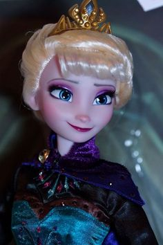 Frozen Dolls - Lulemee OOAK Doll Pop Art