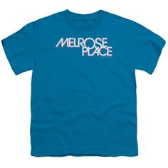 """Checkout our #LicensedGear products FREE SHIPPING + 10% OFF Coupon Code """"Official"""" Melrose / Logo - Short Sleeve Youth 18 / 1 - Melrose / Logo - Short Sleeve Youth 18 / 1 - Price: $29.99. Buy now at https://officiallylicensedgear.com/melrose-logo-short-sleeve-youth-18-1"""