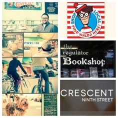 Come to The Regulator Bookshop on Ninth tonight at 6:30 for the wrap up party of the month long local scavenger hunt for Waldo! Check out Crescent Ninth Street Apartments and other local shops while your there! #FindWaldo #liveat9th #bullcity