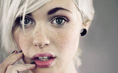 Blondes Devon Jade Faces Freckles Women