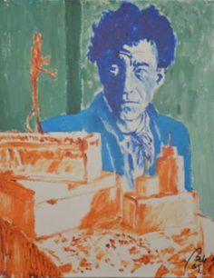 Alberto Giacometti 1. Portraits 1. Painters, scene 9)