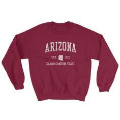 Vintage Arizona AZ Adult Sweatshirt (Unisex)