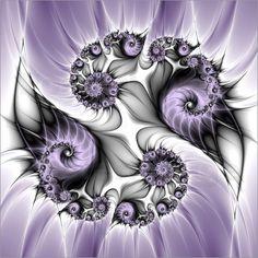 gabiw Art - Fraktal Lila Illusion