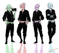 they are NINJAS! - uta no prince sama