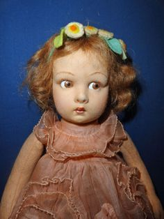 Adorable All original Lenci Girl Doll from sarabernsteindolls on Ruby Lane