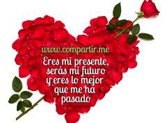 Frases de Amor con Imagenes de Rosas