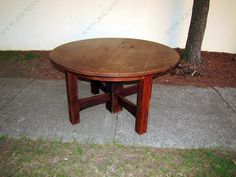 Large | GUSTAV STICKLEY | circa 1901-02 | Dining Table | w3265 ...