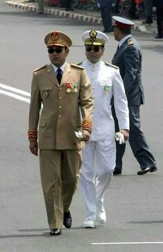 King of Morocco SM Mohamed 6...and Prince My Rachid