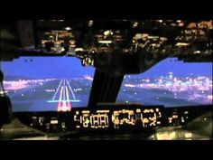 Fantastic 747 Dawn Approach into Hong Kong This video is from the OCEAN AIRLINES B747 DVD!