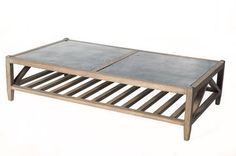 Bluestone Coffee Table Perfect For Outside