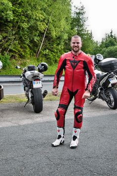 DaineseBikers — davidm297: Wow Hot & Love  The Red Dainese...
