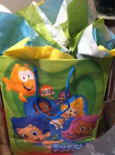 Found this bubble guppies gift bag at #Walmart