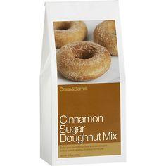 Cinnamon Sugar Doughnut Mix in Breakfast Food | Crate and Barrel