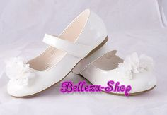 Mary Janes Shoes Toddler US Size 10-13 Euro 26.5-30 Flower Girl Pageant GS009 - http://shoes.goshoppins.com/girls-shoes/mary-janes-shoes-toddler-us-size-10-13-euro-26-5-30-flower-girl-pageant-gs009/