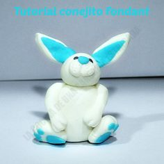 Rabbit fondant tutorial Tutorial de conejo con fondant