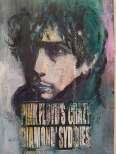 """""""Syd Barret, Pink Floyd Crazy Diamond"""" 50 x 70"""