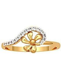 JewelOne Yellow Gold The Callina Ring Gold Jewelry Simple, Gold Jewellery, Gold Ring Designs, Gold Rings, Fashion Jewelry, Bangles, Rose Gold, Jewels, Yellow