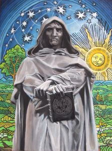 Giordano Bruno: Philosopher, Mystic, Heretic - After watching the first episode of the new Cosmos television series, I became interested in Giordano Bruno, who was featured in one of the animated segments of the show.