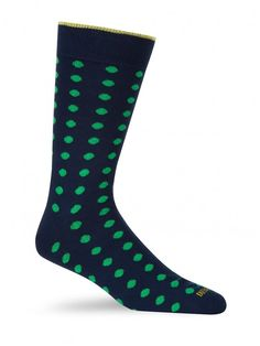 Duchamp - Limes Dot Sock - SockStyle.co.uk