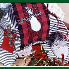 Christmas Towels Sewing Patterns ePattern