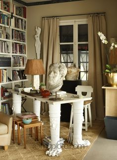 Interiors : Mark Gregory Peters. Ave Niza House; Nice, France