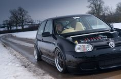 RHD and hoodless = Boss Vw Mk4, Vw Golf Mk4, Car Volkswagen, Golf 4, Mazda, Porsche, Lol, Type 4, Vroom Vroom