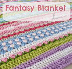 Lanas de Ana: Fantasy Blanket
