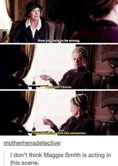 MAGGIE SMITH THE SASS QUEEN