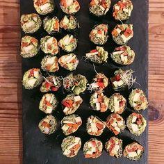 veggie sushi c/o @nu