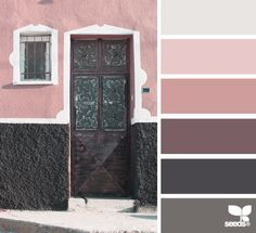 Pink and mauve color palette