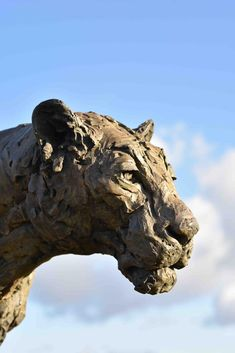 Bronze, signed, dated and numbered Lion Walking, Wild Lion, Sculptures, Lion Sculpture, He Is Able, Outdoor Settings, Mark Making, Bronze Sculpture, Statues