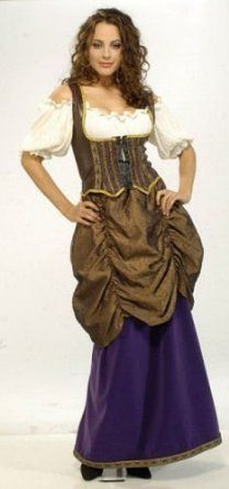Designer Collection Fancy Renaissance Wench Costume for Women