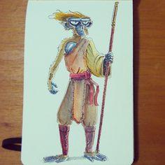 @Sketch_Dailies #sketch_dailies #monkeyking