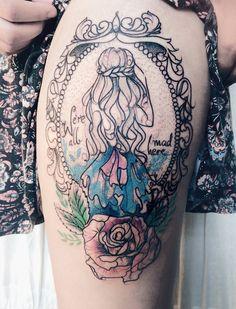 Un tatouage réalisé par Pliszka
