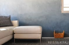 Awesome 49 Pretty Ombre Wall Paint Designs Ideas For Living Room. : Awesome 49 Pretty Ombre Wall Paint Designs Ideas For Living Room. Living Room Wall Designs, My Living Room, Interior Design Living Room, Decoration Gris, Room Wall Painting, Paint Designs, Bedroom Decor, Furniture, Home Decor