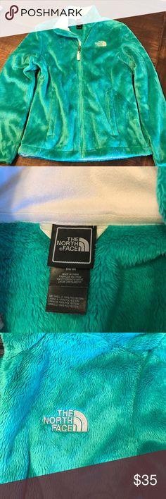 Green fleece North Face jacket Green fleece North Face jacket North Face Jackets & Coats
