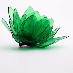Brooch - handmade jewelry and accessories collection exclusively made out of plastic bottles