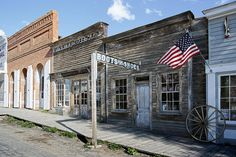 ghost towns in america | City Ghost Town - Montana Digital Art - Virginia City Ghost Town ...
