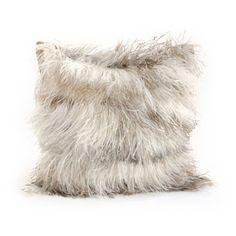 Ostrich Feather Pillow