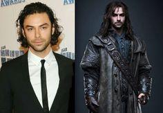les acteurs de the hobbit sans costume aidan turner kili   Les acteurs de The Hobbit sans costume   the hobbit photo nain maquillage image c...
