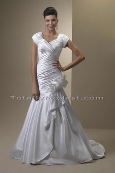 8afda63e47d35 Wedding Gown Collection 3 Babette TOTALLY MODEST # 1 choice for Modest  Wedding Dresses with sleeves