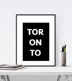 Digital Prints, Digital Art, Typography Art, Toronto, Unique Jewelry, Handmade Gifts, Shop, Etsy, Vintage