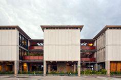 Quando estamos cercados de boa arquitetura, as horas de estudo podem ser muito mais enriquecedoras