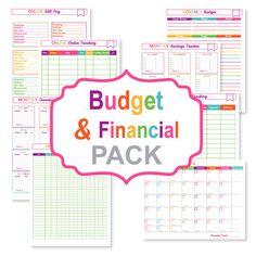 printable-budget-planner-pack