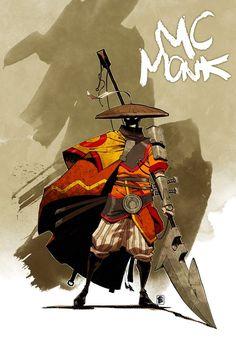 MC Monk by *Shwann on deviantART