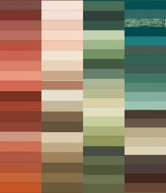 My Gamine Autumn extended palette in hex codes (version 2)